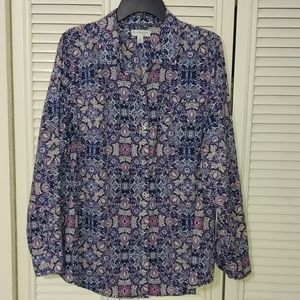Kim Rogers Button Down Top